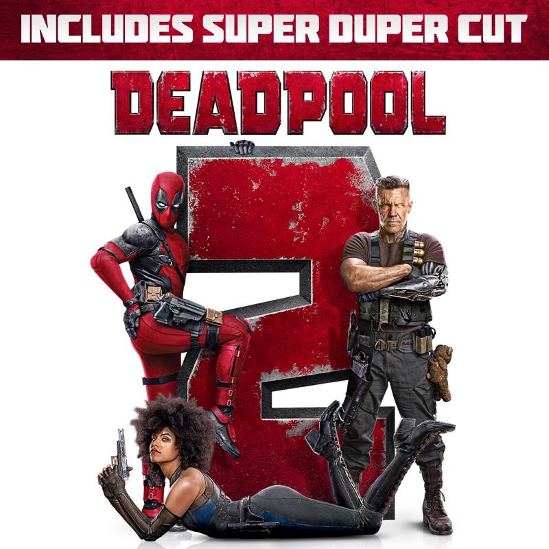 Deadpool 2 (plus bonus features)