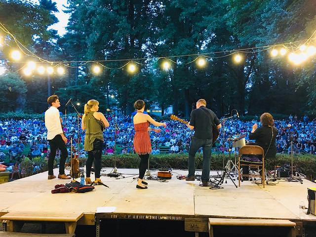 Pastorius Park Concerts 2018