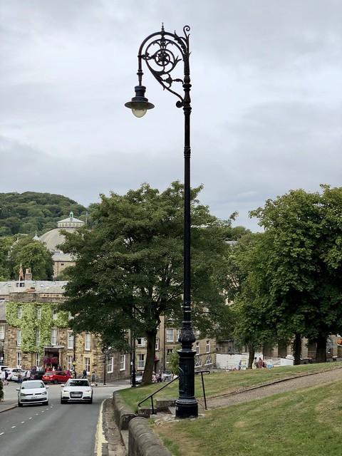 Heritage street lamp, Buxton, Derbyshire