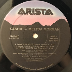 KASHIF + MELI'SA MORGAN:LOVE CHANGES(LABEL SIDE-B)
