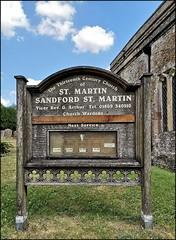 St Martin Sandford St Martin