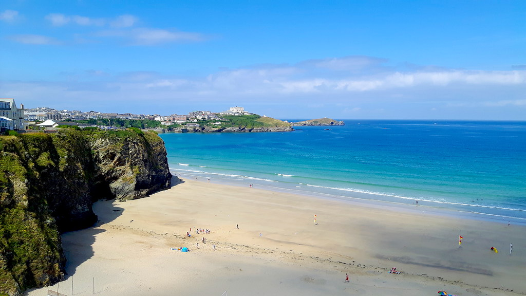 Newquay beach, Cornwall