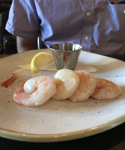 "Sad shrimp ""cocktail"""