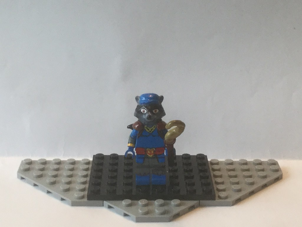 Lego Custom Sly Cooper Playstation I Knew I Was Going T Flickr