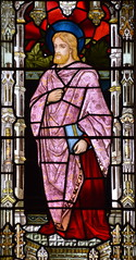 St Mark (Henry Holiday for Powell & Sons, 1878)