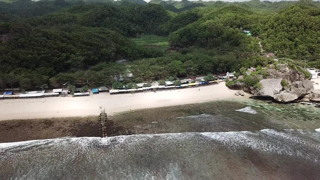 Indrayanti Beach, Gunungkidul, Jogja