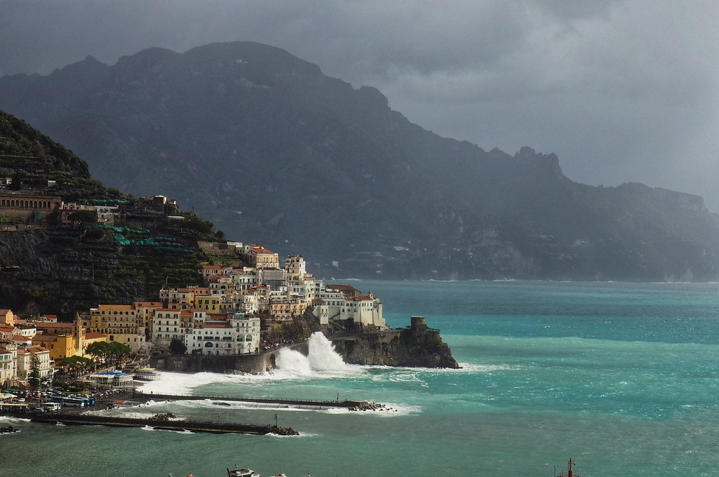 Amalfi after storm