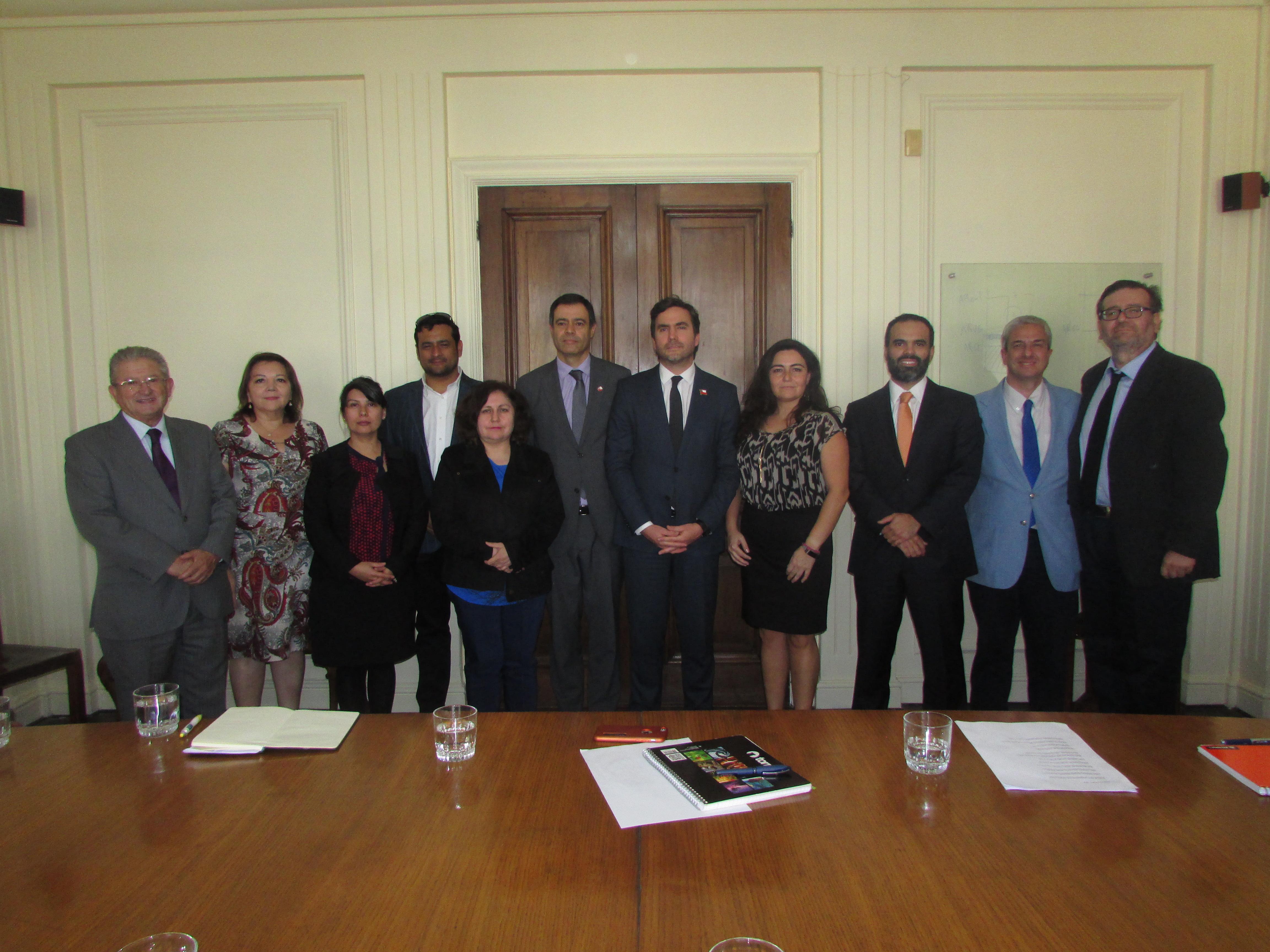 ANEC, junto al FTH, se reune Protocolarmente con nuevas autoridades de Hacienda - 23 Abril 2018