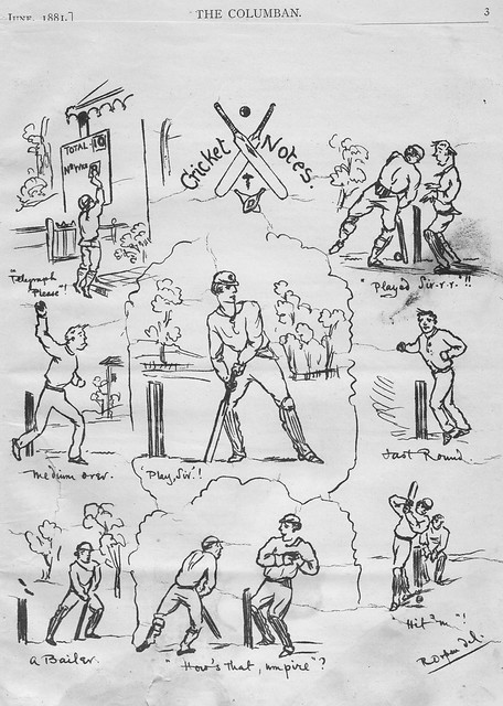 Cricket Notes, 1881