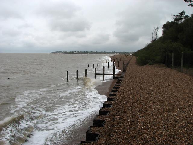 The coast at Bawdsey
