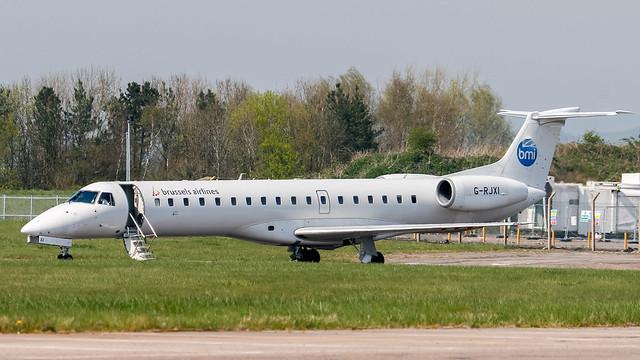 BMI Embraer 145 G-RJXI