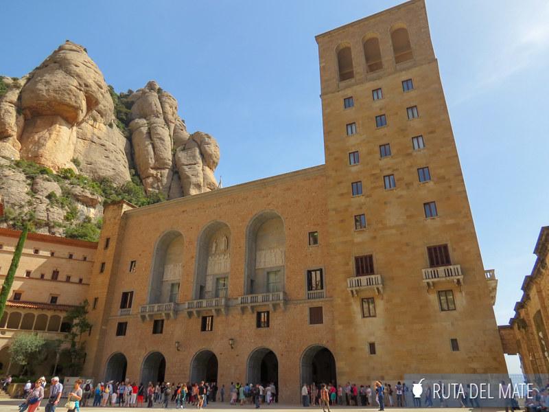 Pueblos de Cataluña Monasterio Montserrat 03