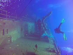 Wreck diving Zenobia, Cyprus