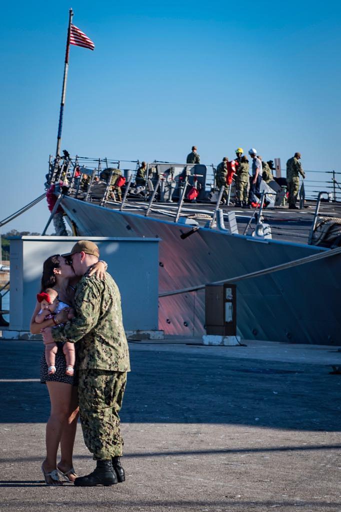 USS Porter returns from 5th FDNF patrol