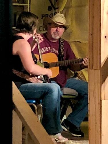 the banjo girl and me