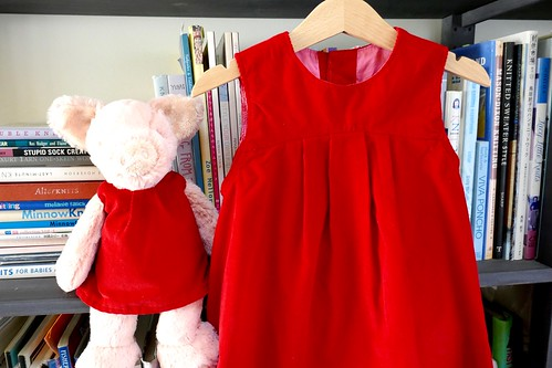 Peppa Pig and the Oliver + S Puppet Show Dress (adapted)