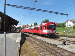 Trains Porrentruy-Bonfol (Suisse)