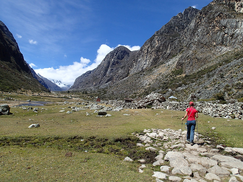 Tue, 2018-07-24 13:05 - We skipped the campsite and carried on (it is before the mid-point to our basecamp).