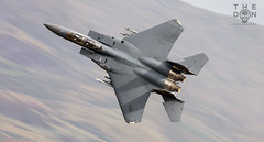 F-15E of 492d Bolars low level