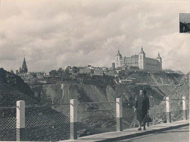 Puente de la Degollada en 1963. Fotografía de Julián C.T.