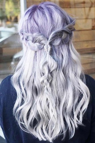 Latest Lavender Hair Color To Adopt The Newest Trend 6