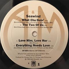 SEAWIND:SEAWIND(LABEL SIDE-A)