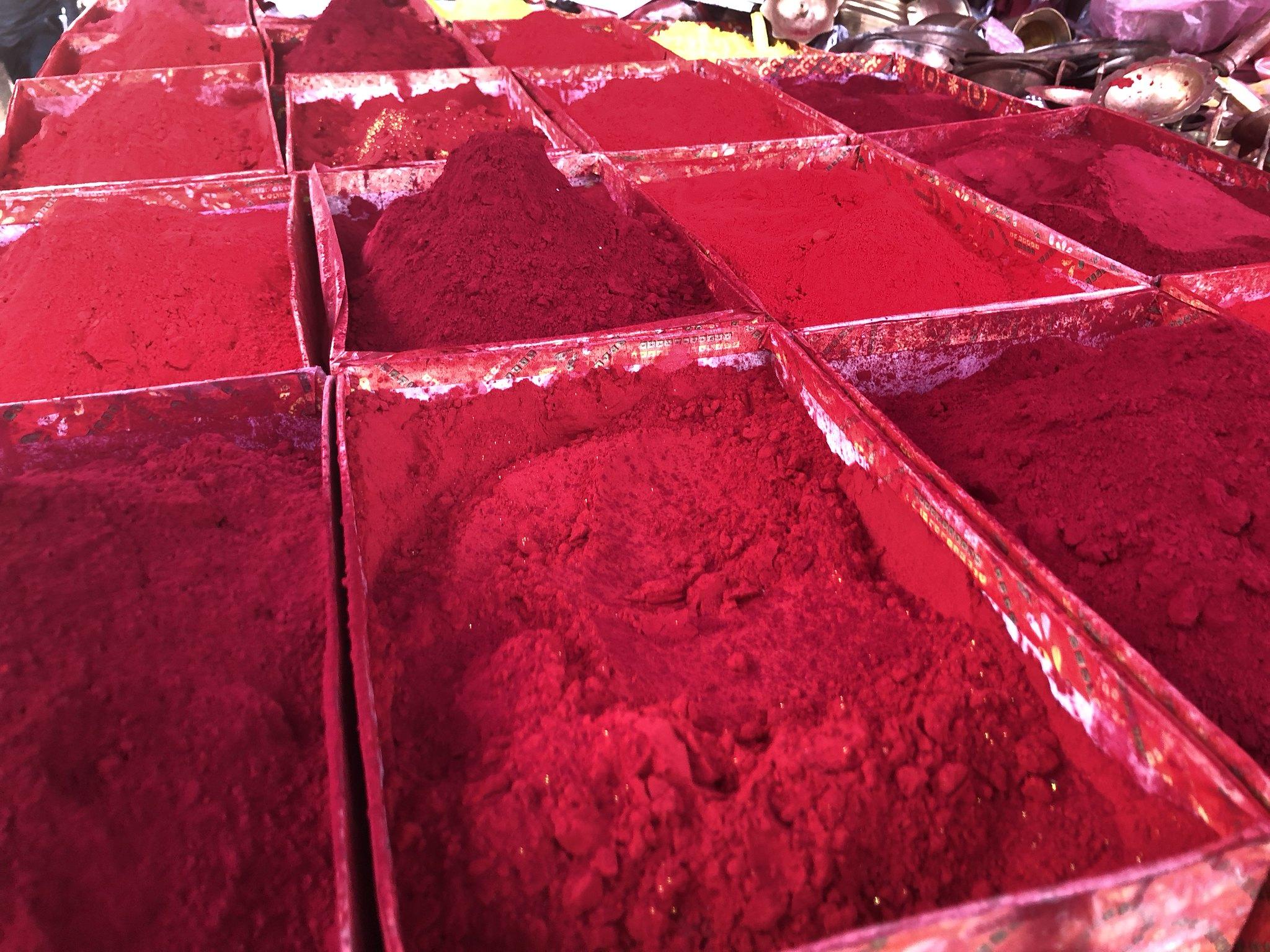 Dye at Macchenarayan Temple