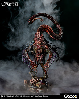 Nyarlathotep from Cthulhu Mythos, Pre-painted Statue (Non-Scale)