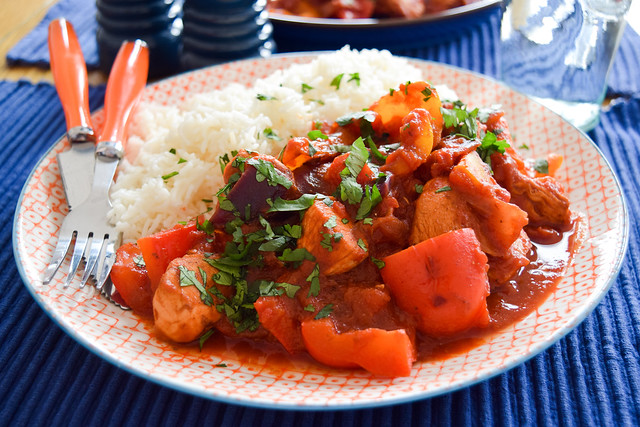 Mexican-style Chicken Stir Fry