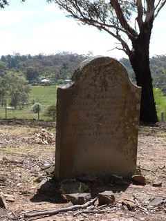 Pennyweight Flat Cemetery - Gravestone of Elizabeth Skillicorn and Mary Carbis