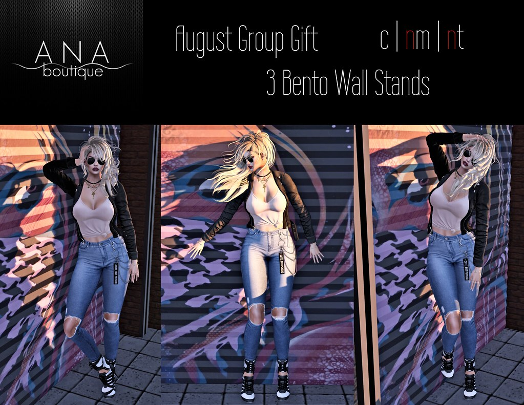August Group Gift! 3 Bento Wall Stands - TeleportHub.com Live!