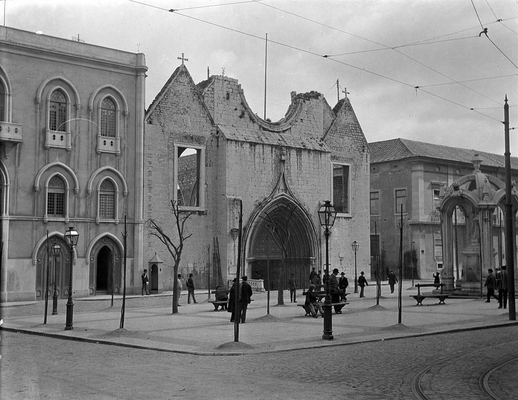 Convento do Carmo, Lisboa (C.A. Cunha, s.d.)