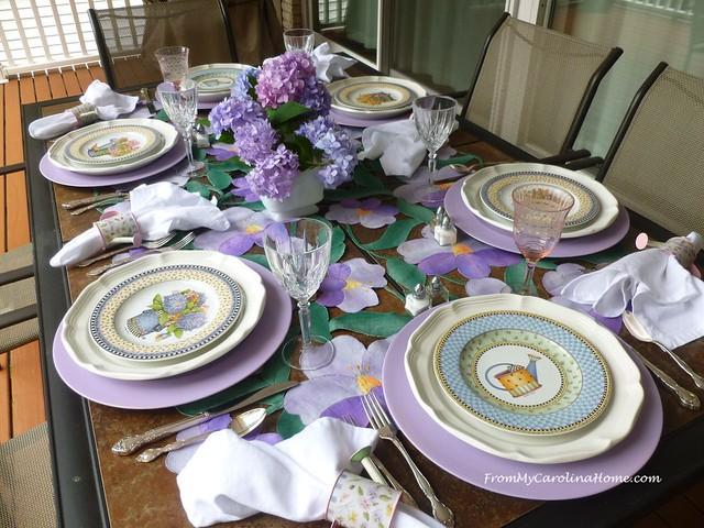 Al Fresco Tablescape at FromMyCarolinaHome.com