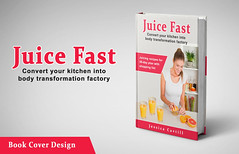 Juice Fast - Book cover design