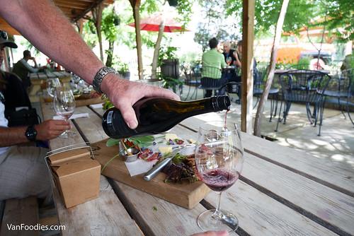 Covert Farms Family Estate Wine Tasting