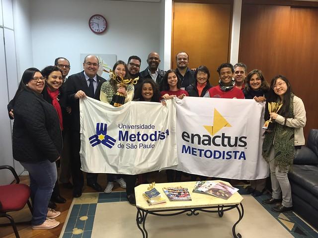 Enactus Metodista - Prêmios