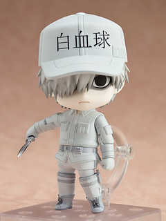 """Bye bye, bacteria."" Nendoroid White Blood Cell"