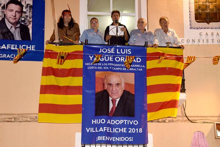 1 Pregón de las Fiestas de Villafeliche en honor de José Luis Yagüe2