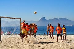 sports, beach soccer, team sport, football, ball game, ball,
