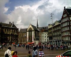 Nieuwe Kerk ('Nya kyrkan') i Amsterdam.