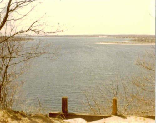 Shelter Island Cliff at Goat Hill 1989