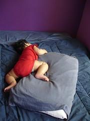 Sleeping like a frog