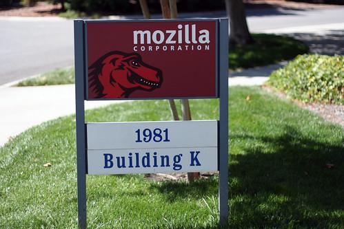 Mozilla signage