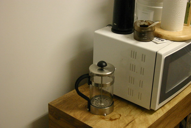 Tiny Craftsman Comes With Espresso Station: POOF! This French Press Is Tiny