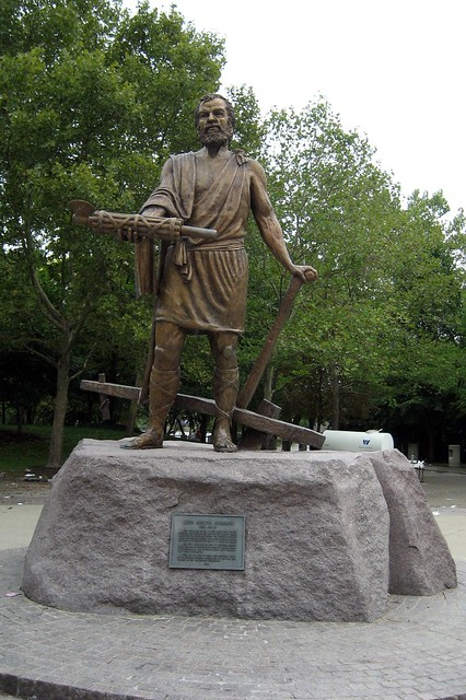 Cincinnati Sawyer Point Cincinnatus Statue Flickr