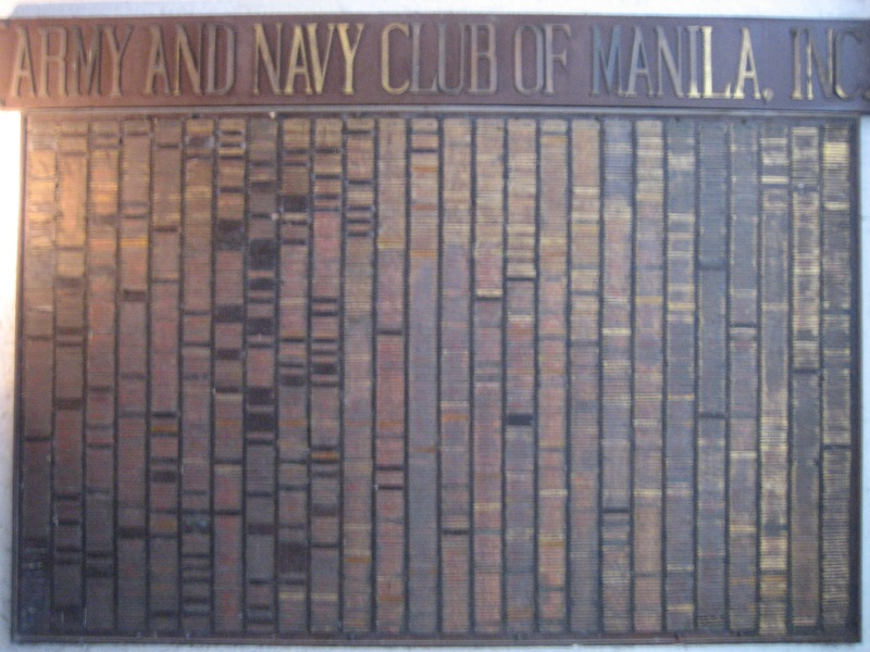 Army and Navy Club of Manila
