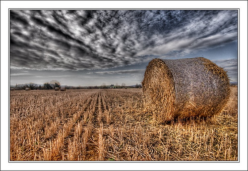 HDR Bale of Straw