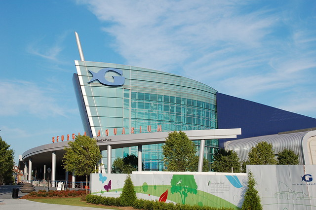 Georgia Aquarium Building Flickr Photo Sharing