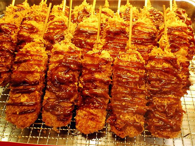 恐らく神戸コロッケの味噌カツ