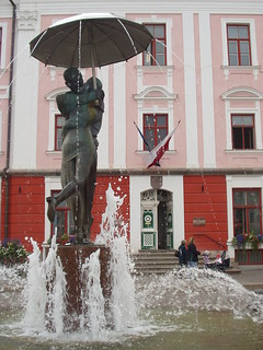 Tartu fountain, in front of the university